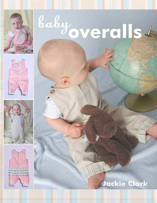 Jackie Clark Designs Baby Overalls
