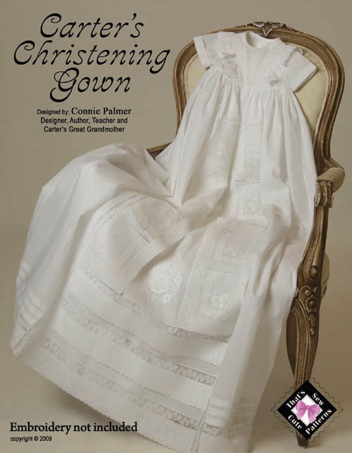 Carter\'s Christening Gown--PRE-ORDER TODAY