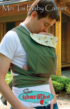 Mei Tai Baby Carrier Pattern to Make Sew Liberated Babies DIY To
