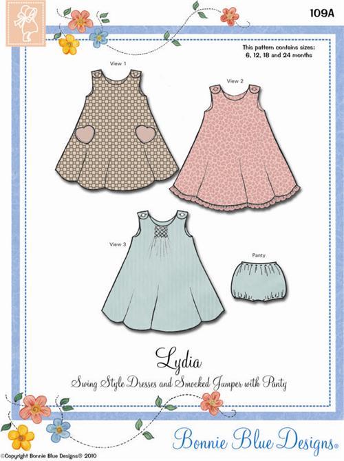 Lydia Swing Dress By Bonnie Blue Designs Bonnie Blue