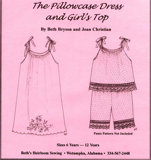 Beth\'s Heirloom Patterns, Beth\'s Heirloom sewing pattern, sewing ...